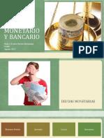 Derecho Monetario y Bancario Sesión Tres