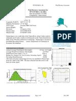NunamIqua Wind Data Report