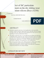 Effect of SiC particulate reinforcement on the dry.pptx