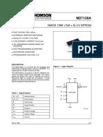 Data Sheet 27128