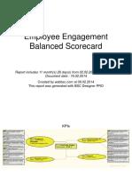 Employee Engagement BSC Report