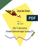 Materi Sinyal Dan Sistem Rev 03