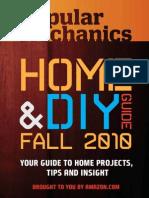 Popular Mechanics. HOME & DIY GUIDE - Fall 2010