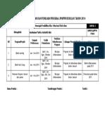 Rekod Pelaksanaan Dan Penilaian Program Jpn Jbl Man 2014