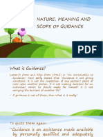 180394250 Nature Meaning and Scope of Guidance Pptx