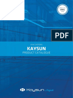 Catalog General Kaysun_2016 Eng Sp