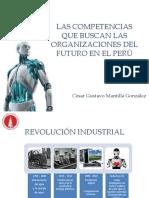 competencias para las organizaciones del futuro