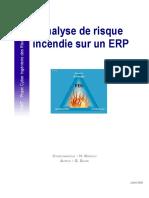 Analyse de Risque Incendie Sur Un ERP