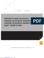 Radio cd Arkamys 3d Renault