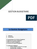 Gestion budgétaire