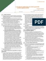 Conditiile Specifice Ale Optiunii Suplimentare de Marire Garantata a Sumei Asigurate (GIO)