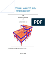 Structural Analysis and Design Report using SAP2000 pdf