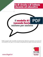 Scheda Flc Cgil Graduatorie Di Circolo e Istituto Docenti Educatori Modello a1 Con Commenti