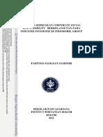 Analisis Kebijakan Corporate Social Responsibility Berkelanjutan Pada Industri Otomotif Di Indomobil