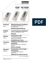 Manual ME3830 Gigahertz Solutions (Inglés)