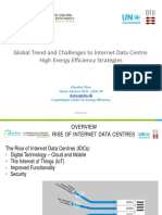 Global Trend and Challenges to Internet Data Centre;High Energy Efficiency Strategies