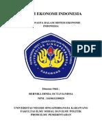 Peran Swasta Dalam Sistem Ekonomi Indonesia 2