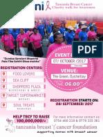 Dasani-Tanzania Breast Cancer Foundation Charity walk