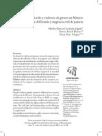 Feminicidio y violencia de género en México, omisiones del Estado y exigencia civil de justicia.pdf