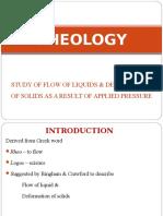 Rheology(1)