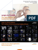 Syngo via Frontier SummerSchool