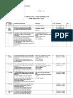 2planificare Calendaristica Clasa a2a 2015