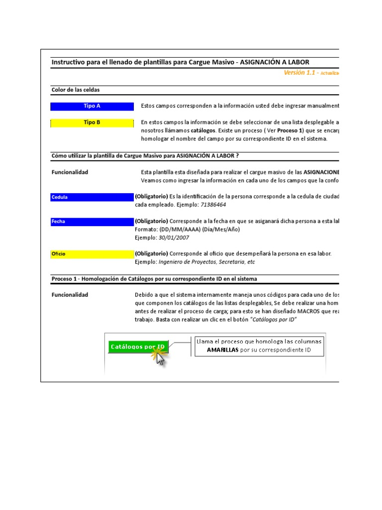 Copia de Cargue Masivo - Asignacion a Labor