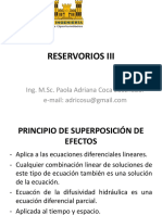 Reservorios III - Superposicion