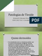 patologias de tiroide