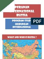 Peranan Internasional Russia