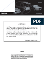 Manuale Toyota Fielder Portugues