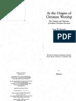 At the Origins of Christian Worship - Larry W. Hurtado.pdf