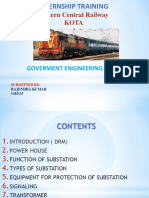 INTERNSHIP WCR ELECTRICAL ENGINEERING PPT