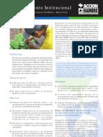 ACH Técnicas de Extensión; Fortalecimiento Comunitario Productivo