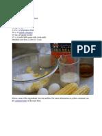 Corn Muffin Recipe
