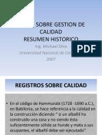 1 Resumen Historico de La Calidad 2013