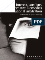 ICC Interest Auxiliary and Alternative Remedies in International Arbitration