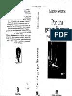 Santos Por Una Geografía Nueva 87-105