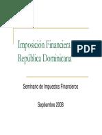 Imposicion Financiera en Republica Dominicana
