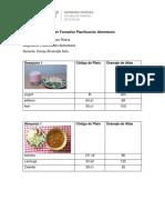Taller Formativo Planificación Alimentaria C.R.