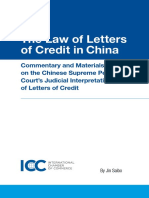 ICC the Law of Letters of Credit in China