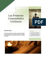 1 Apuntes. Las Primeras Comunidades Cristianas Unlocked