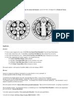 La Medalla de La Cruz de San Benito