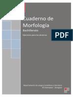 000 Bis- CUADERNO de MORFOLOGÍA-Solo Ejercicios Para Los Alumnos