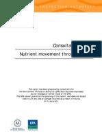 Nutrient Movement Through SA Soil