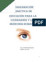 Educacion Para La Ciudadania 1º Bach