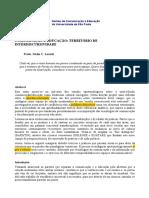 LAURITI, Nádia. Comunicacao e Educação - Território de Interdiscursividade