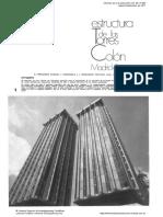 Informes de La Construccion Torres de Colon