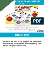 Actualización Pai 2016