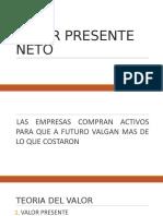 VALOR PRESENTE NETO.pptx